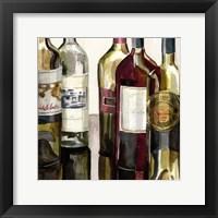 B&G Bottles Square I Framed Print
