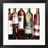 B&G Bottles Square II Framed Print