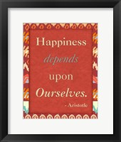 Framed Happiness Ourselves