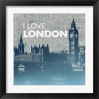 Framed City Love I