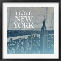 City Love II Framed Print