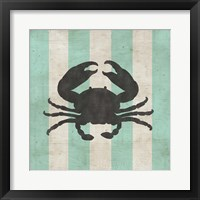 Framed Striped Coastal I