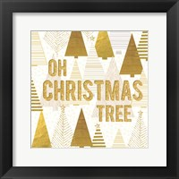 Framed Christmas Jingle Tree II