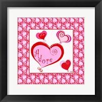 Framed Art for the Heart I