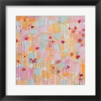 Flutter Kisses II Framed Print