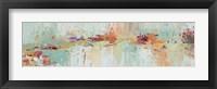Framed Abstract Rhizome Panel I