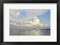 Framed Long Boat Key at Sunrise