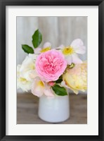 Framed Country Bouquet I