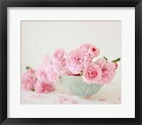 Framed Petals and Porcelain