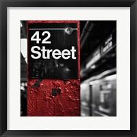 Framed 42nd St. Square