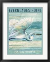Everglades Poster I Framed Print