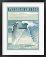 Everglades Poster II Framed Print
