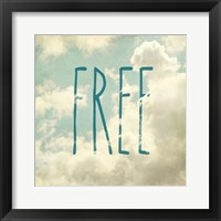 Framed Free In The Clouds