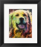 Framed Happy Companion I