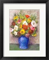 Framed Vase of Beauty I