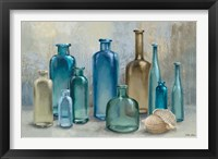 Framed Glass Bottles
