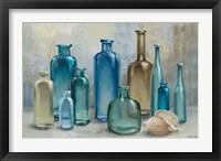 Framed Glass Bottles