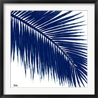 Framed Indigo Baru Palm II