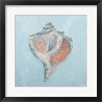 Framed Conch & Scallop I