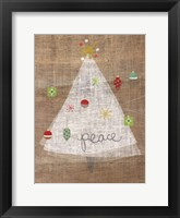 Framed Christmas Joy on Burlap II