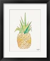 Framed Origami Pineapple