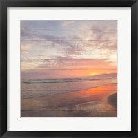 Framed Beach Wood White