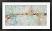 Framed Abstract Rhizome Rectangle