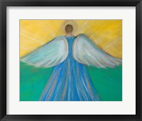 Framed Angels Wings of Enlightment