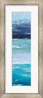 Framed Blue Palette Panel I