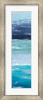 Framed Blue Palette Panel I