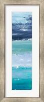 Framed Blue Palette Panel II
