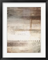 Gray Warmth Coming Through II Framed Print