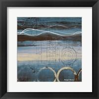 Blueprint I Framed Print