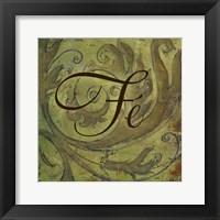 Framed Fe