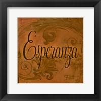Framed Esperanza
