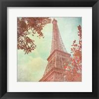 April in Paris I Framed Print