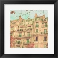 Framed April in Paris II