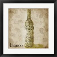 Framed Type of Wine II