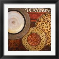 Framed African Circles II