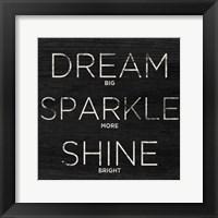 Framed Dream, Sparkle, Shine (Shine Bright)