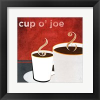 Framed Cup o' Joe