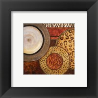 Framed African Circles II