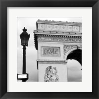 Framed Arc de Triomphe