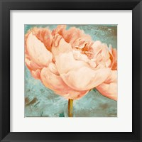 Framed Beautiful Peonies Square II
