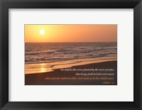 Framed Sunrise II