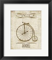 Framed Cycle 1886