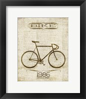 Framed Bike 1986