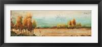 Gold River II Framed Print