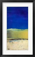Blue Lagoon II Framed Print