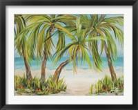 Framed Palm Life